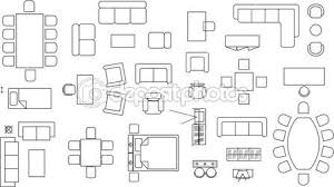 furniture for floor plans. roof rafter design furniture symbols for floor plans pdf clipart n