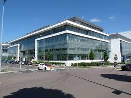 office building facade. Office Building. Luxembourg, Luxembourg Building Facade