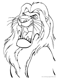 Lion King Coloring Page 12 Eduardo Angel Visualseduardo Angel Visuals