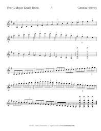 The G Major Scale Book For Violin Pdf Download