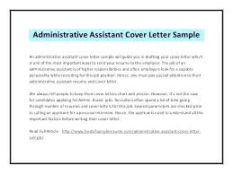 office cover letters cover letters for admin assistant jobs letter administrative feat