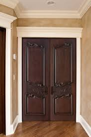 image of luxury design double closet doors
