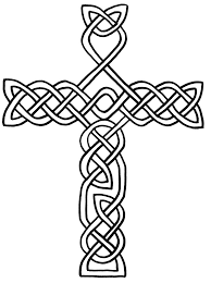 Free Printable Celtic Cross Coloring Pages Clipart Best Cross