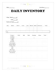 Blank Storage Inventory Template Storage Unit Inventory