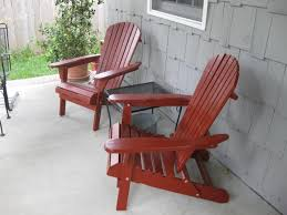 image of living accents folding adirondack chair ottoman