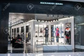 Di Design Thailand Alexander Wang Shop At Emquatier Bangkok Thailand Dec 25