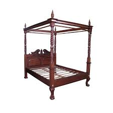 Classic Furniture Mahogany Four Poster Canopy Bed - Antique Reproduction Furniture Mahogany Indonesia - Buy Classic Furniture Mahogany,Antique ...