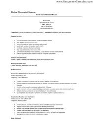 Pharmacist Resume Sample Gorgeous Sample Resumes For Pharmacy Technicians Luxury 60 Pharmacist Resumes