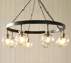 chandeliers milk glass chandelier globe pottery barn for globes splendid