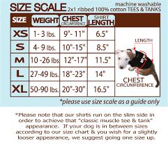 dog breed size chart size chart