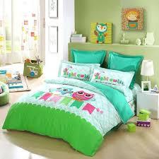 toddler boy bedding sets bedroom cool full size bed for girl owl design decoration trucks