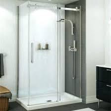 maax frameless shower door shower shower doors halo sliding door 1 2 in maax frameless shower