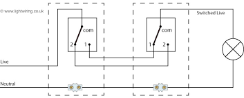 2 way switch wiring diagram light wiring 2 Switches 1 Light Wiring Diagram two way switching with power feed to the switch