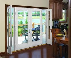 Home Decoration Stunning Andersen French Door Design Connecting - Bifold exterior glass doors