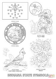 Small Picture Indiana State Symbols coloring page Free Printable Coloring Pages