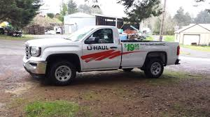 Rented new GMC Uhaul pickup