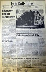 17 best images about chernobyl disaster nuclear accident on the front page of the erie daily times 27 years ago today the big story