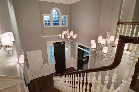 image of 2 story foyer chandelier dimensions