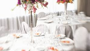 Wedding Reception Arrangements For Tables Wedding Reception Centerpieces Using Tulle Flowers Our Pastimes
