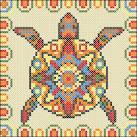 Этническая схема для вышивки