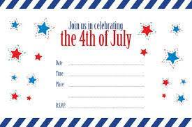 patriotic invitations templates th of july templates powerpoint template on templates free patriotic