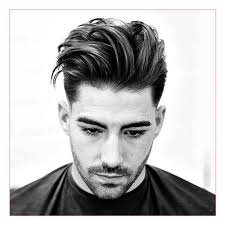 Hairstyles For Thick Wavy Hair Men Also Low Fade With Side Part