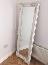 white full length mirror. Simple Mirror Floor Length Mirrors With Mirror On The Floor Full Length Standing  White Wood Framed Mirrors  For Best Decoration  On White Full Mirror O