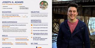 This Guy Made A 'Dating Resume' Explaining Why You Should Date Him Stunning Dating Resume