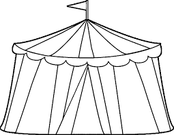 Small Picture Circus Tent Coloring Pages