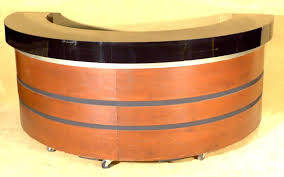reception desk half circle with regard to prepare 5