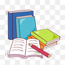 color hand painted books color clipart book pen png image and clipart