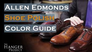 Allen Edmonds Shoe Polish Color Guide Saphir Medaille Dor