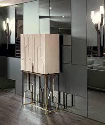 contemporary bar furniture. Contemporary Bar Cabinet / Walnut Ebony Metal Furniture