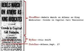 A Newspaper Article Step 1 Article Newspapers And Magazines As Primary Sources