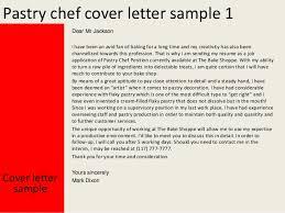 Bakery Chef Cover Letter Sarahepps Com