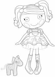 Small Picture Let Your Daughter Pick the Suitable Lalaloopsy Coloring Pages