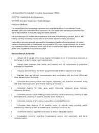 Cleaning Services Job Description Job And Resume Template