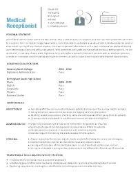 Front Desk Administrator Sample Resume Mesmerizing Resume Objective For Receptionist Mmventuresco
