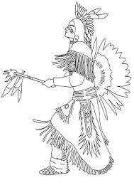 Native American Coloring Pages Printable Native Coloring Pictures