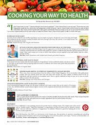 Good Housekeeping Light And Healthy Recipes New York Lifestyles Magazine November 2016 By New York