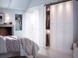 white bedroom furniture ikea. a white bedroom with large wardrobe combination and bed textiles in furniture ikea