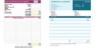 Formato De Cotizacion Para Llenar Plantillas De Facturas De Excel Gratis Para Descargar