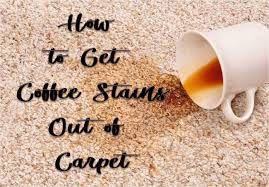 If your carpet is suffering from another type of stain, check out these articles on how to remove stains on carpet due to blood, coffee, tea or oil. 6 Super Fast Ways To Get Coffee Stains Out Of Carpet