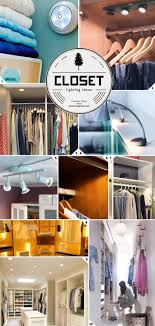wireless closet lighting. closet lighting ideas from wireless to walk in