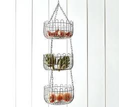 hanging fruit basket farmhouse wire hanging fruit basket hanging fruit  basket ideas . hanging fruit basket ...