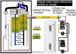 Water Heater Box How To Wire Water Heater For 120 Volts