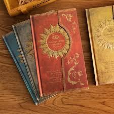 Magic Note <b>Magnetic Buckle Retro</b> European Diary Hard faced ...