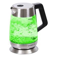 Electric kettle <b>first fa 5406 7</b> Black (backlight, 1,8 liters, temperature ...