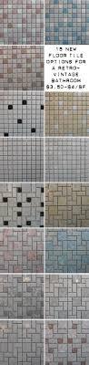 Mosaic Bathroom Floor Tile 25 Best Ideas About Midcentury Mosaic Tile On Pinterest