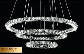 led ring chandelier modern minimalist creative personality circular led ring chandelier restaurant